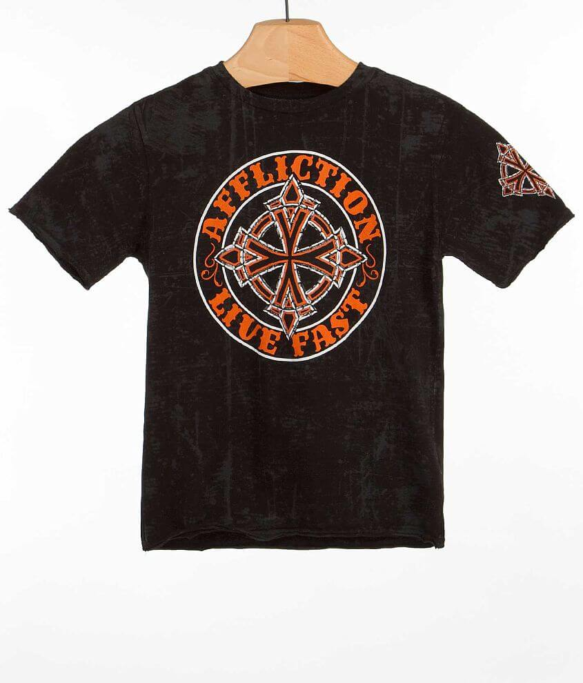Boys - Affliction Royal Chromatic T-Shirt front view