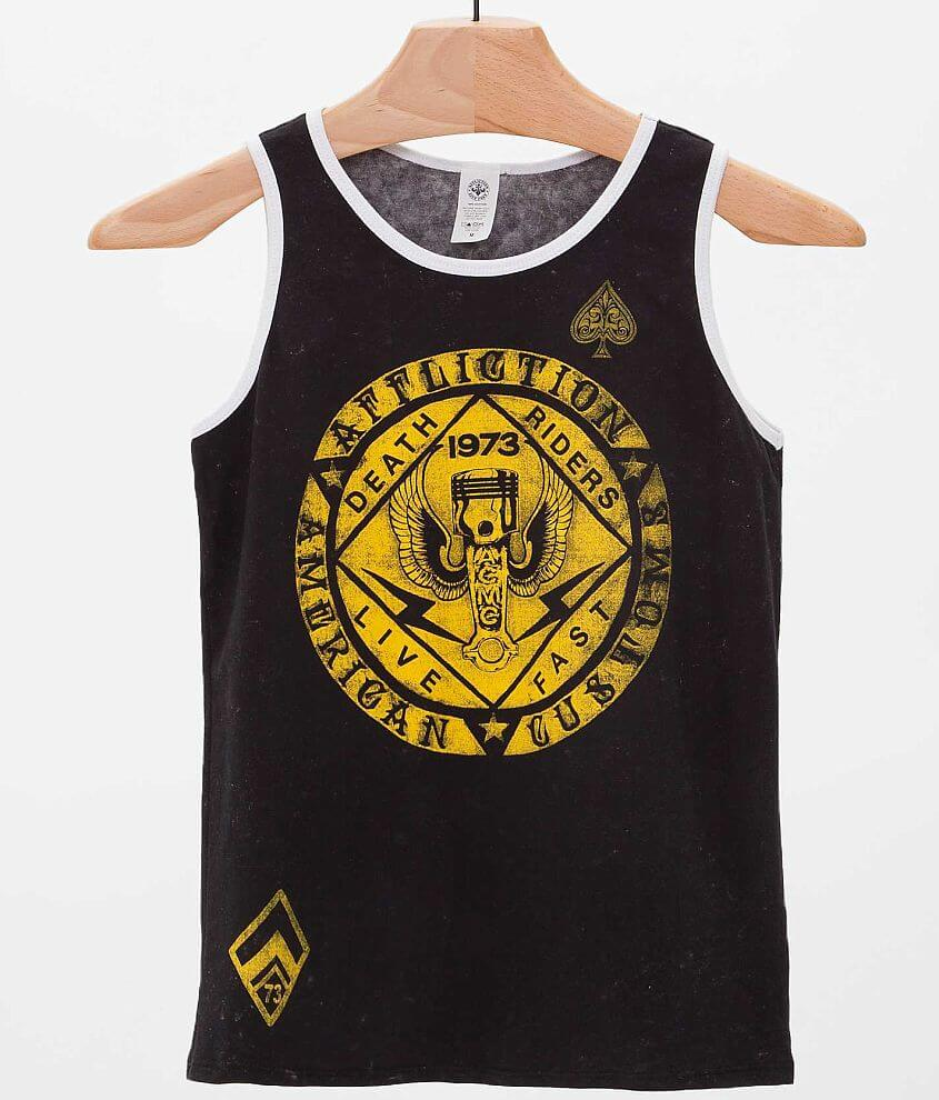 Boys - Affliction Fortunate Son Tank Top front view