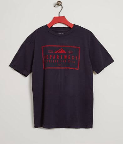 Boys - Departwest Free & Wild T-Shirt