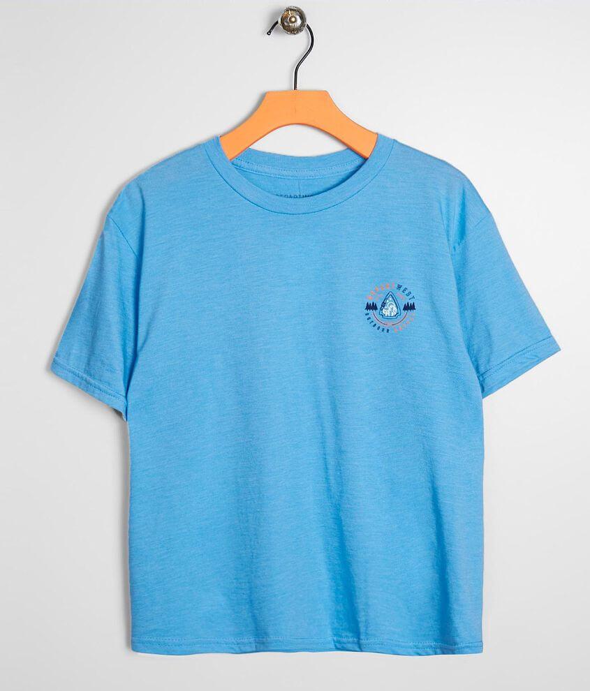 Graphic heathered t-shirt