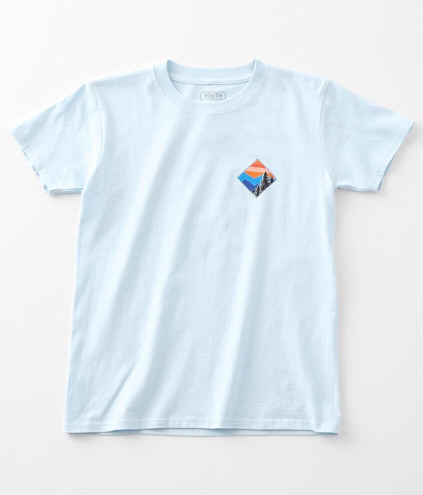 Boys - Departwest Evergreen T-Shirt front view
