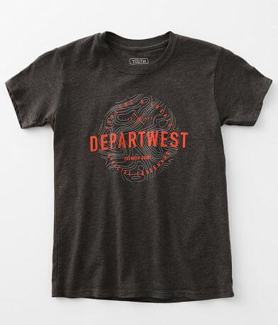 Boys - Departwest Greenstone T-Shirt