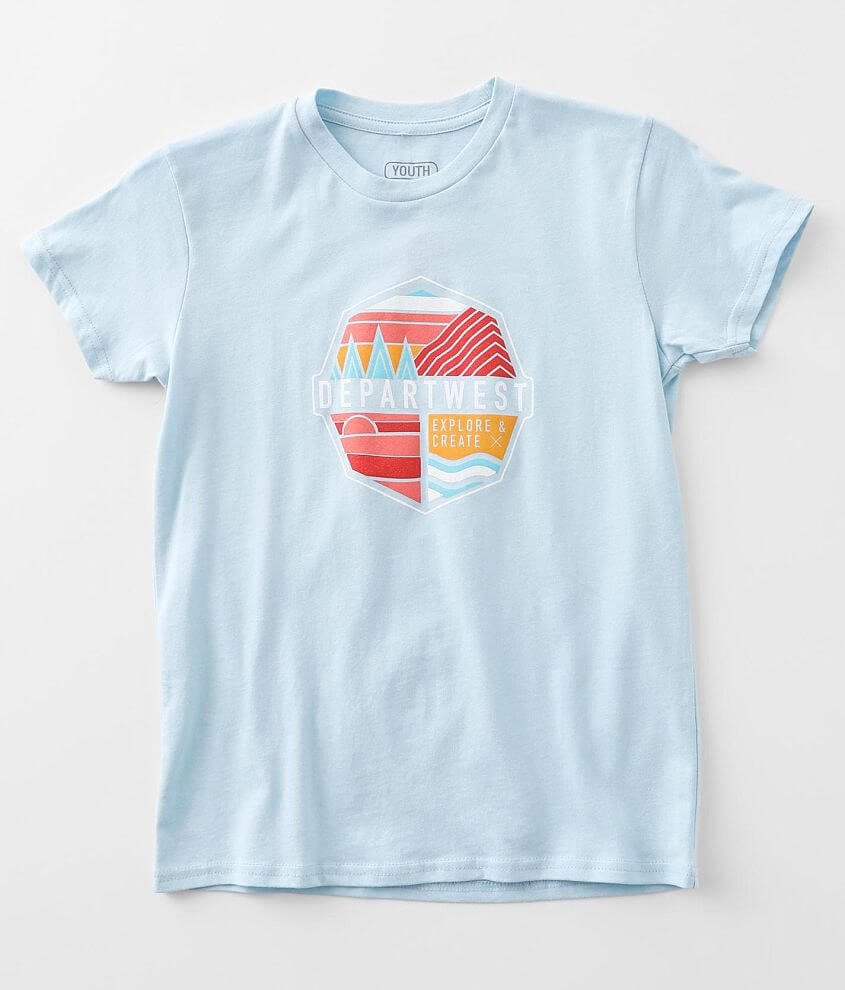 Boys - Departwest Weeping Water T-Shirt front view