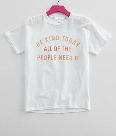 Girls - Modish Rebel Be Kind T-Shirt