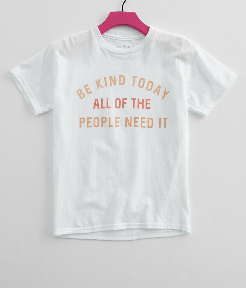 Girls - Modish Rebel Be Kind T-Shirt