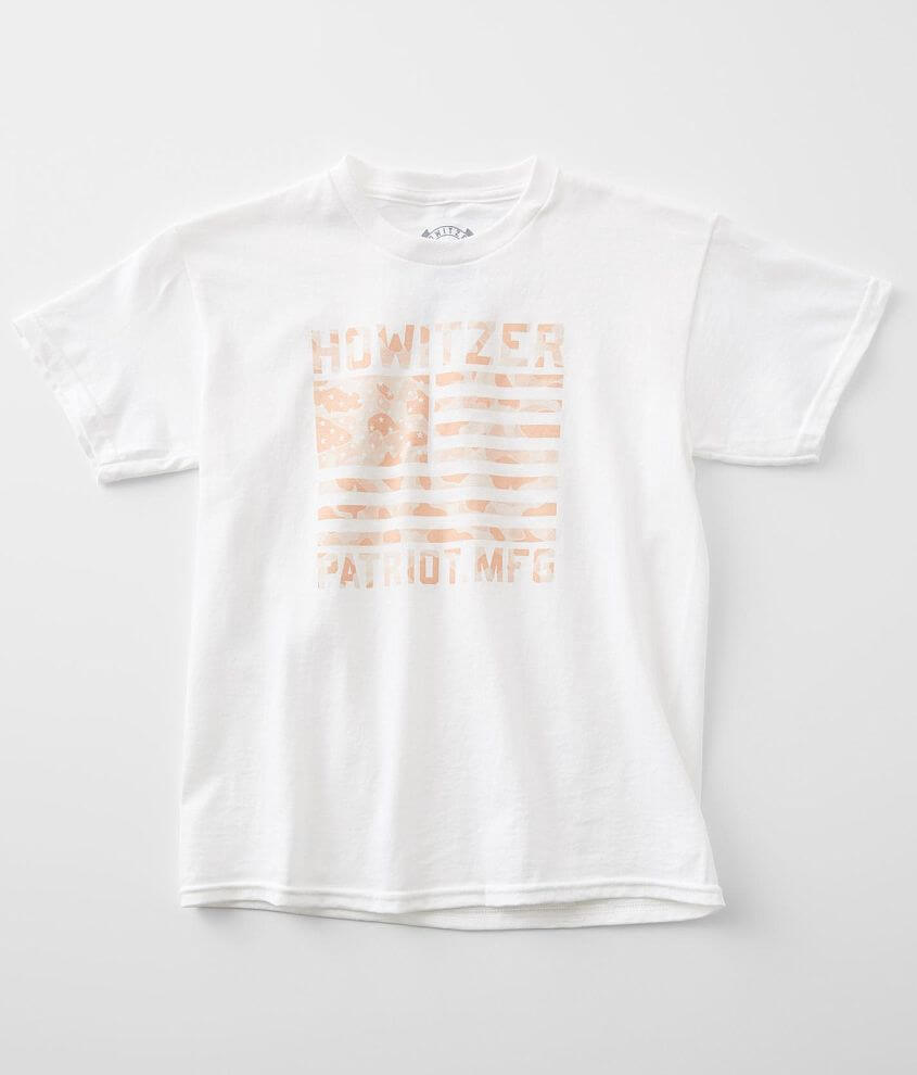 Girls - Howitzer Camo Stamp T-Shirt front view