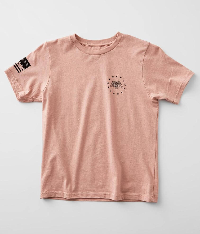 Girls - Howitzer Tread Flag T-Shirt front view