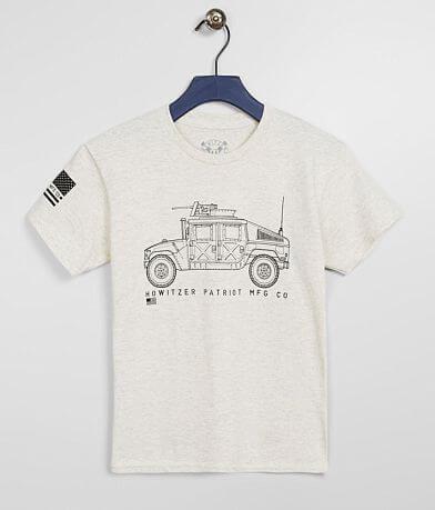 Boys - Howitzer Humvee T-Shirt