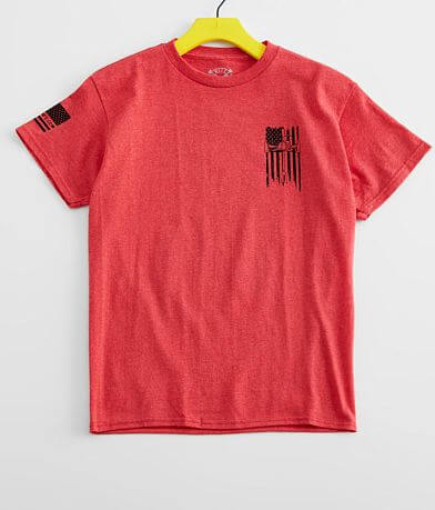 Boys - Howitzer Honor Red T-Shirt