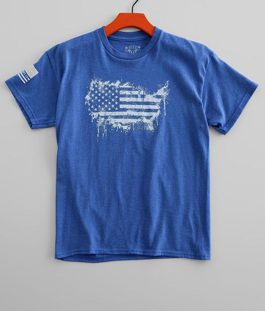 Boys - Howitzer American Stencil T-Shirt