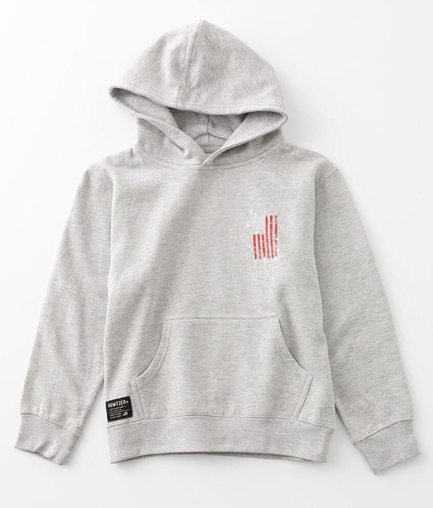 Boys - Howitzer Pledge Hooded Sweatshirt front view