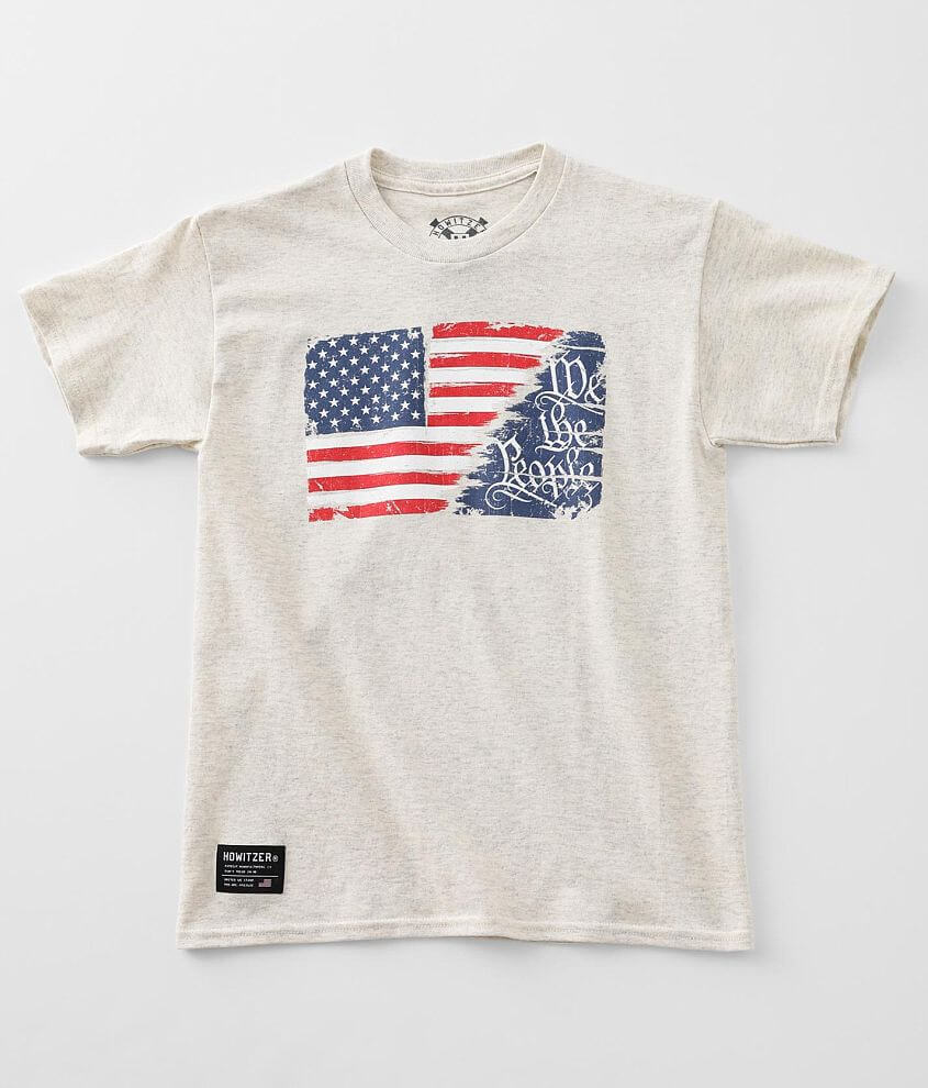 Boys - Howitzer People Flag T-Shirt front view
