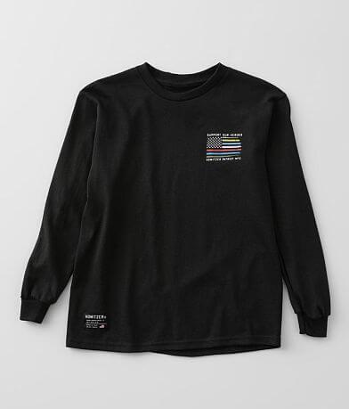 Boys - Howitzer Respect Flag T-Shirt