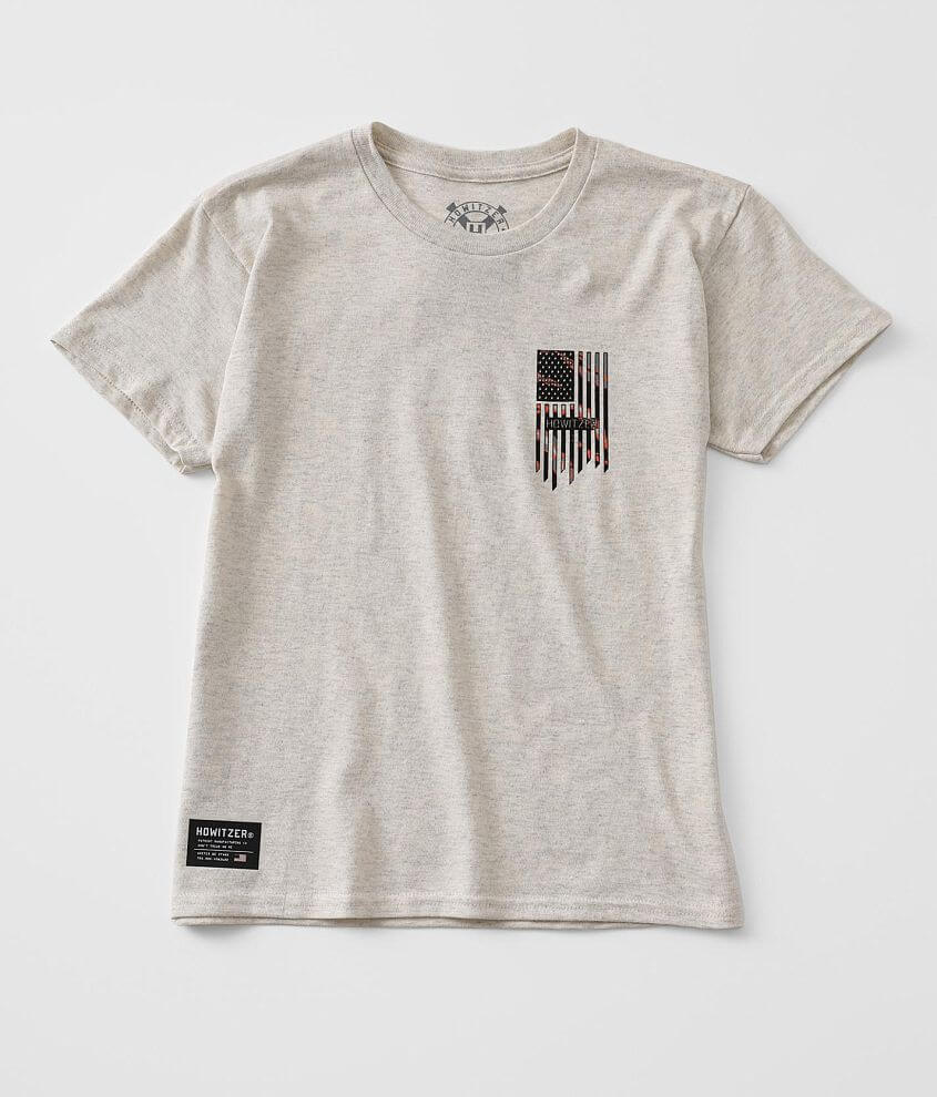 Boys - Howitzer Sharp Flag T-Shirt front view