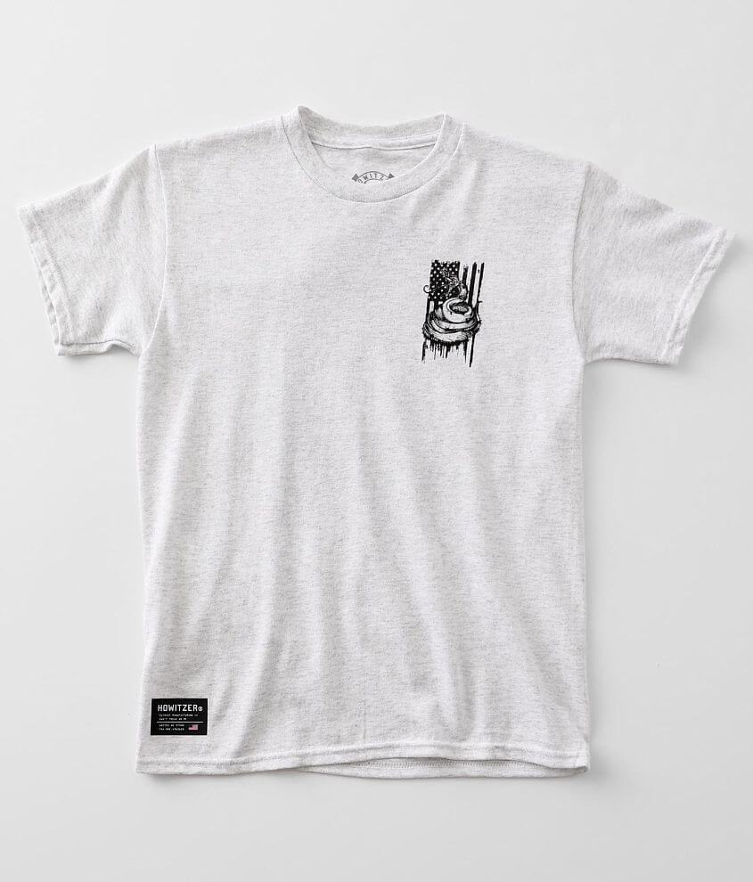 Boys - Howitzer Freedom Snake T-Shirt front view