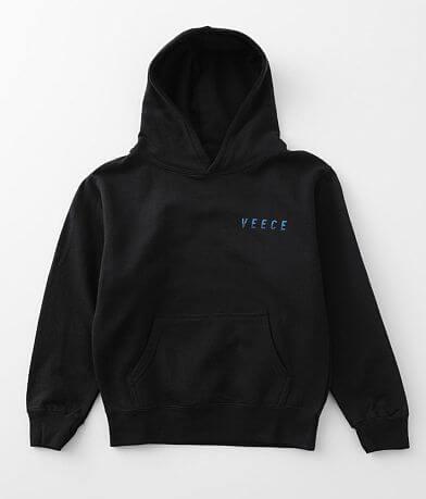 Boys - Veece Forged Knit Hooded Sweatshirt