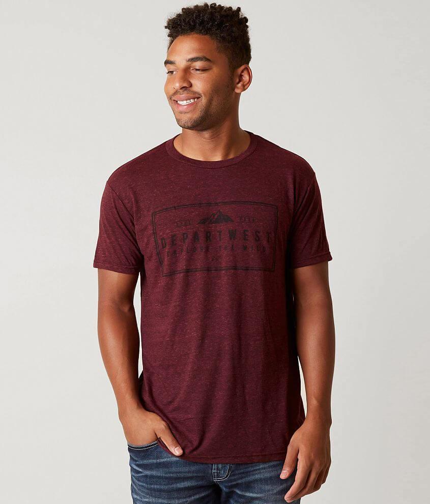 Style BM122/Sku 425002 Graphic heathered t-shirt Model Info: Height: 6\\\'0\\\