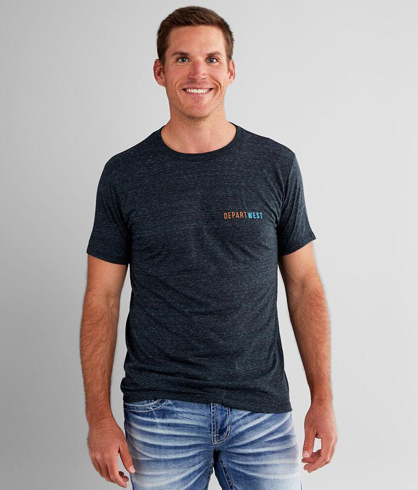 Departwest Mountain View T-Shirt front view