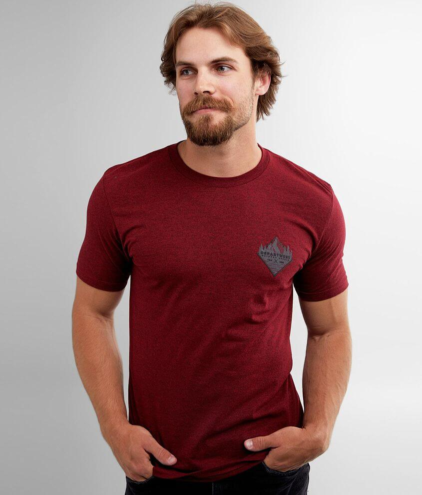 Reflective graphic heathered t-shirt Model Info: Height: 5\\\'8\\\