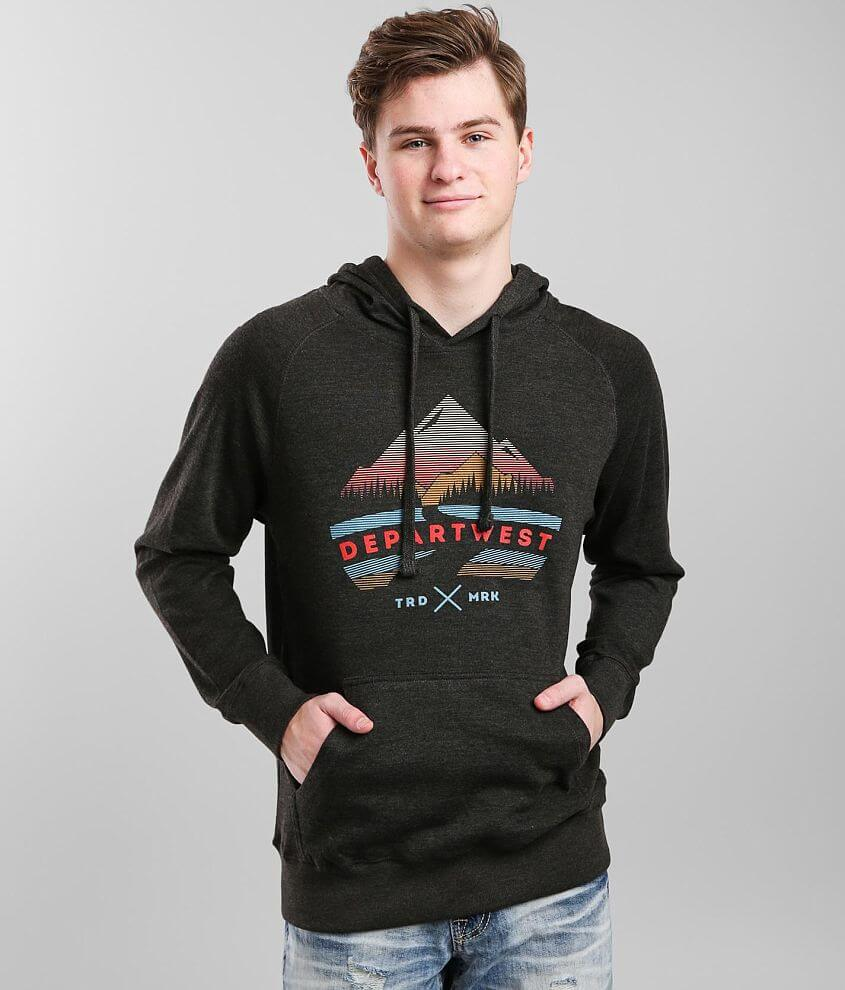 Departwest Mountain High Hooded Sweatshirt front view