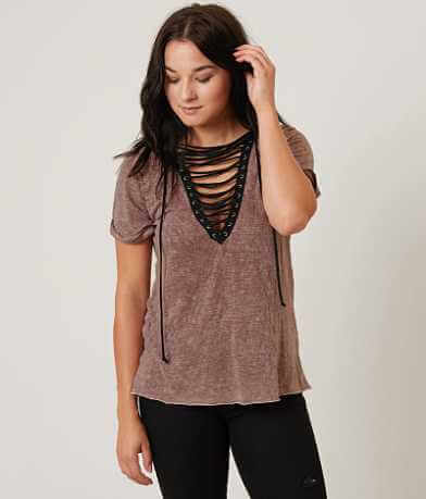 Gilded Intent Washed Top