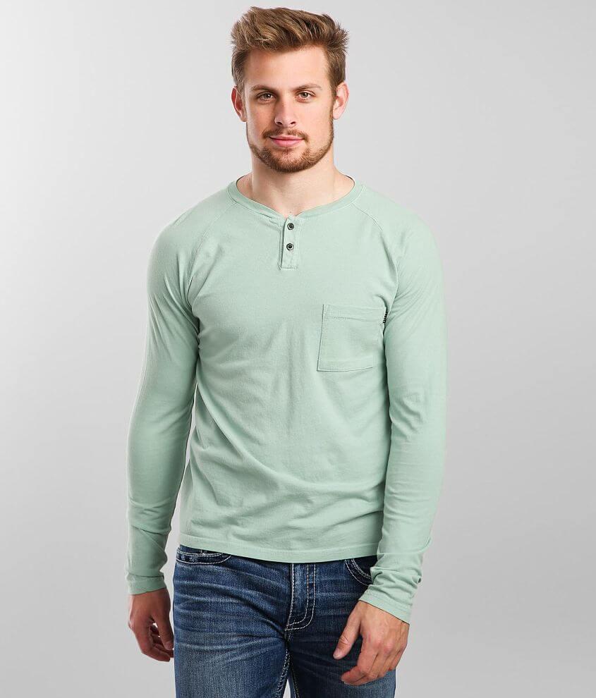 Veece Basic Henley T-Shirt front view