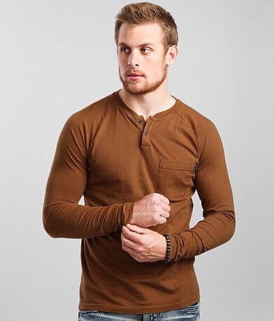Veece Basic Henley T-Shirt