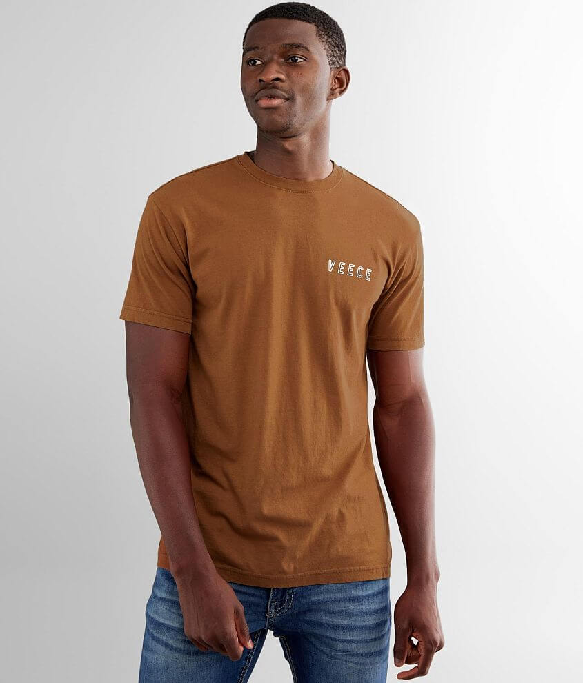 Veece Speed Faded T-Shirt front view