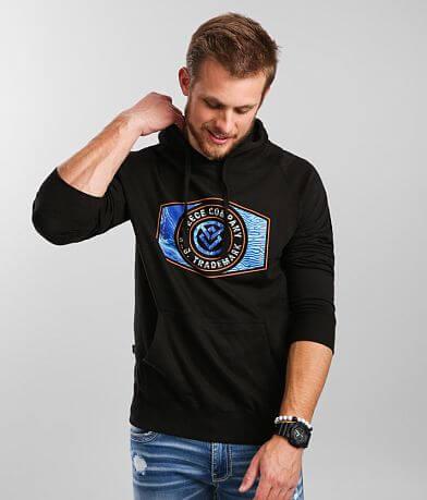 Veece Marbleman Hooded Sweatshirt
