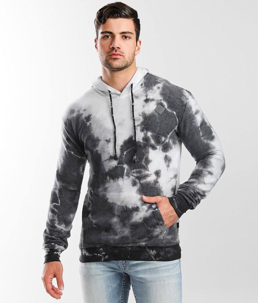 Veece Brushed Knit Hooded Sweatshirt front view