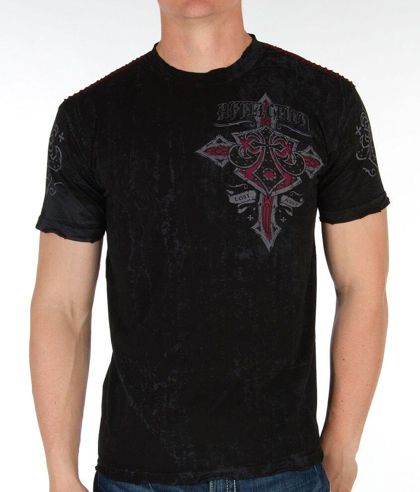 Affliction Lifeline T-Shirt front view