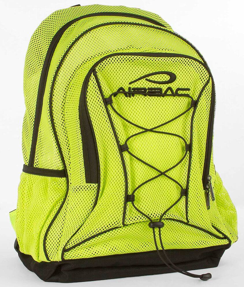 AirBac Neon Mesh Backpack front view