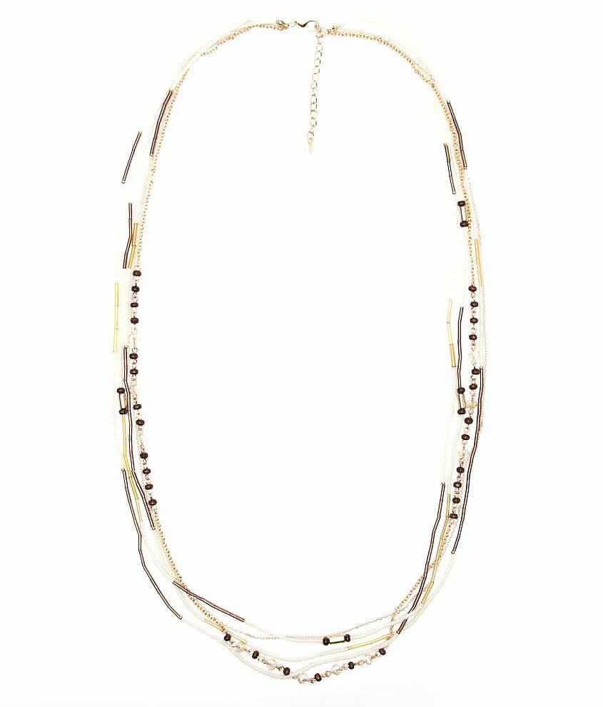 BKE Multi Strand Necklace front view