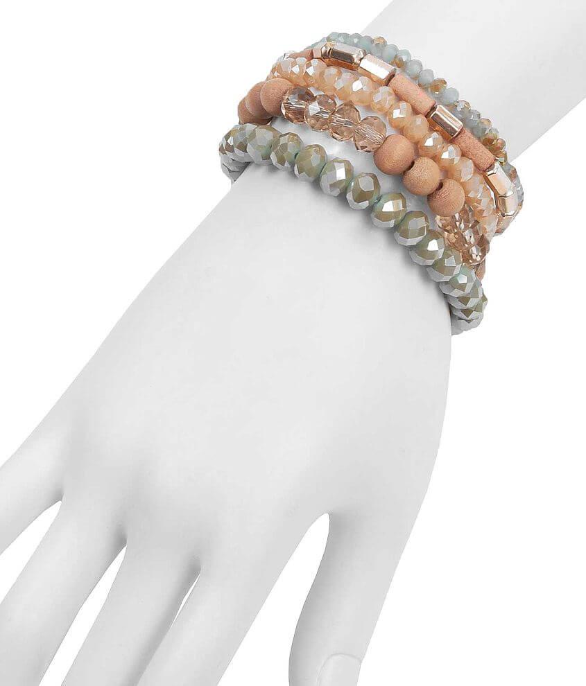 Daytrip Beaded Bracelet Set front view