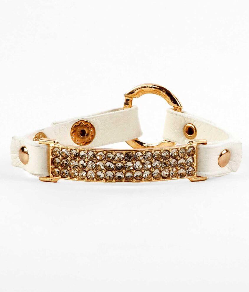 BKE Glitz Bar Bracelet front view