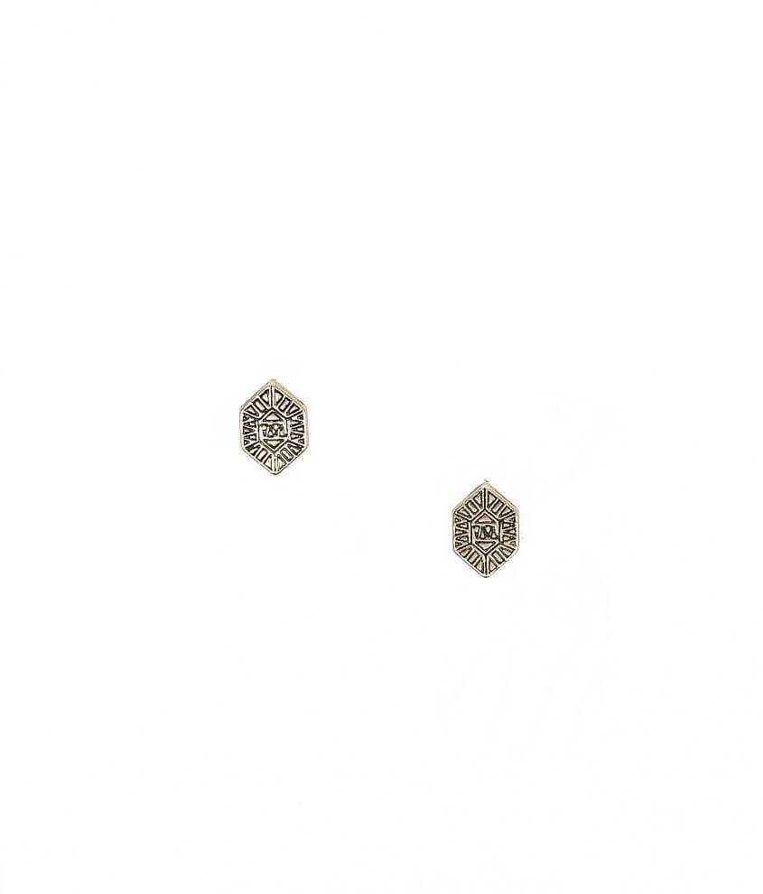 Daytrip Embossed Earring front view