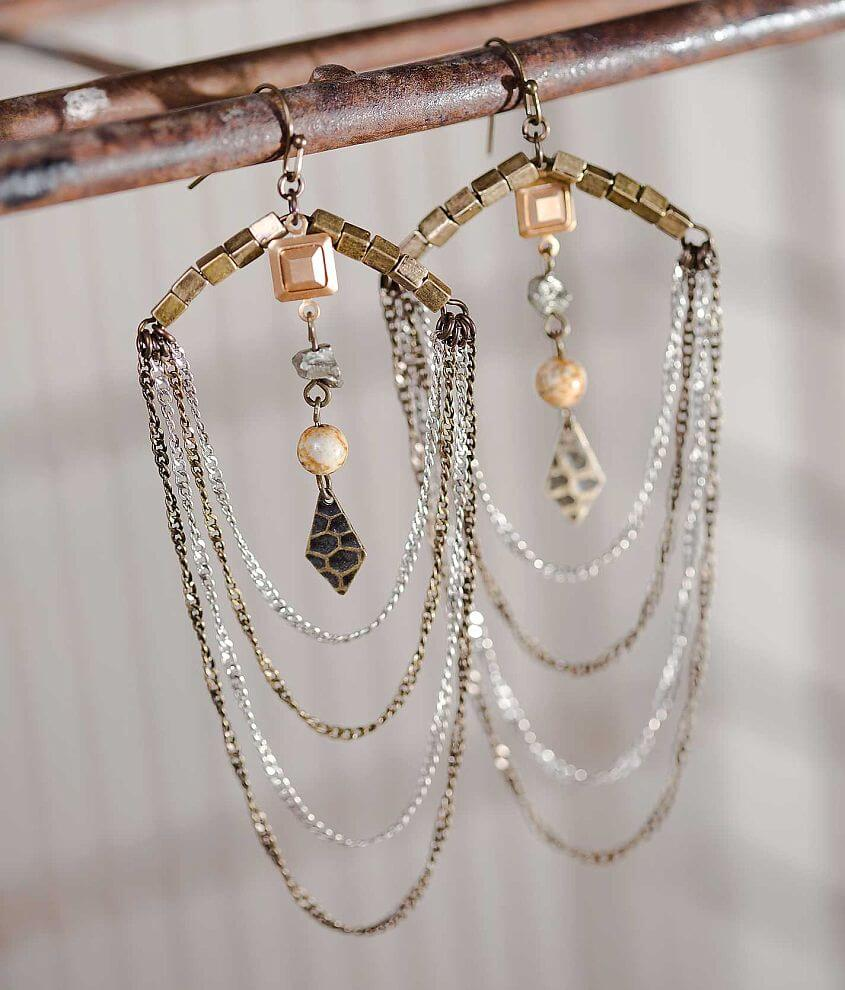 Gimmicks by BKE Layered Earring front view