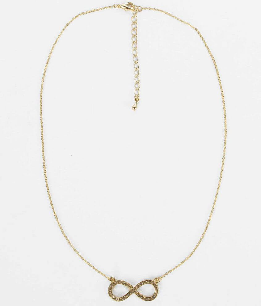 Daytrip Infinity Necklace front view