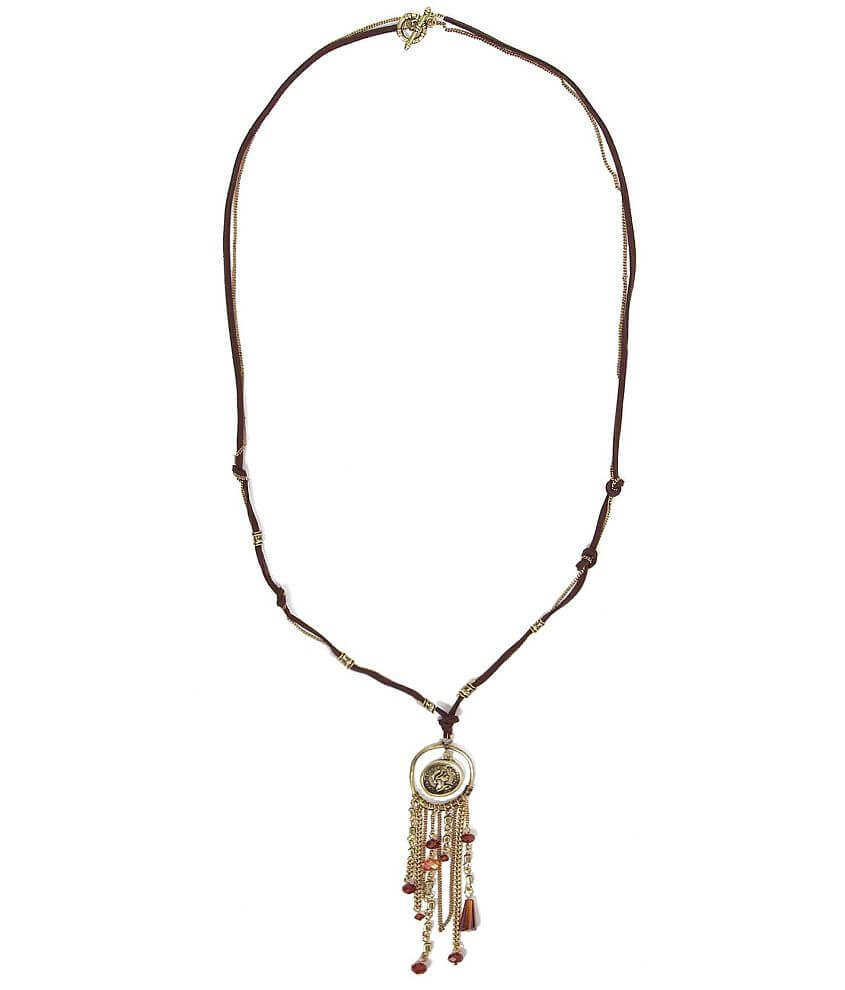 Daytrip Pendant Necklace front view