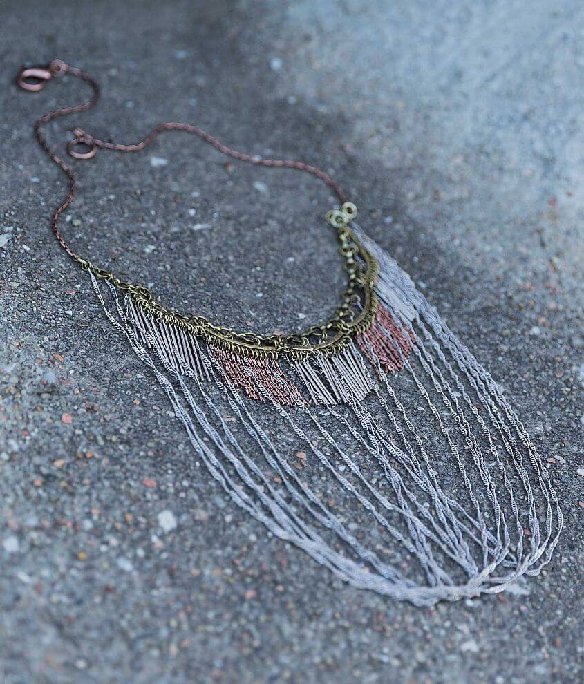 Gimmicks Layered Necklace front view