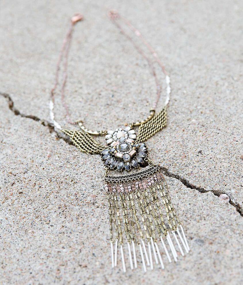 Gimmicks Glitz Pendant Necklace front view
