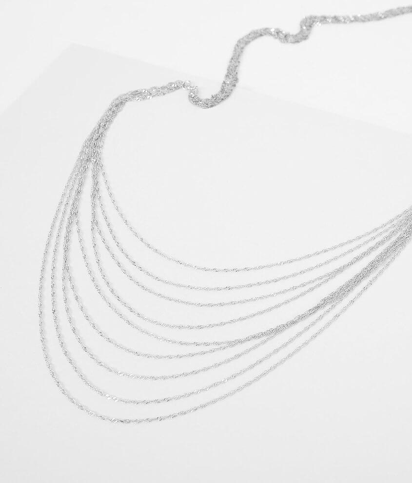 BKE Braided Necklace front view