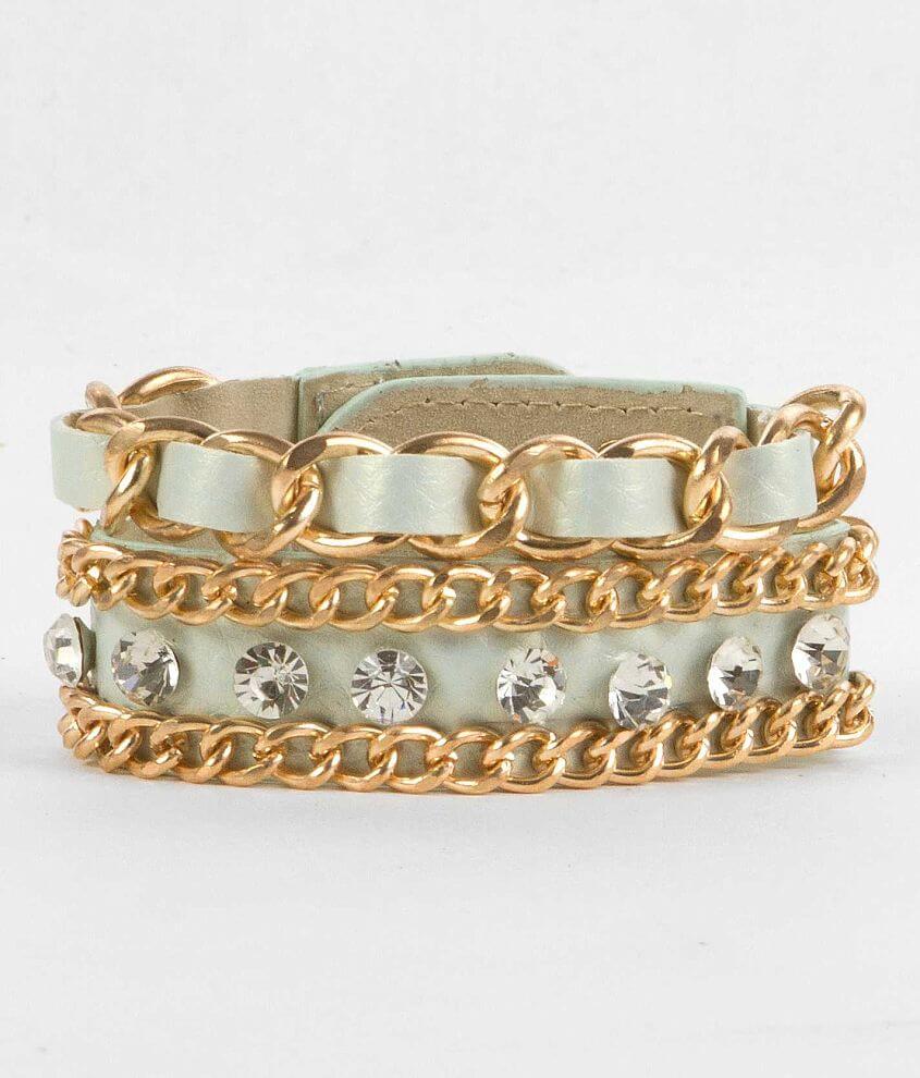 BKE Chain Bracelet front view