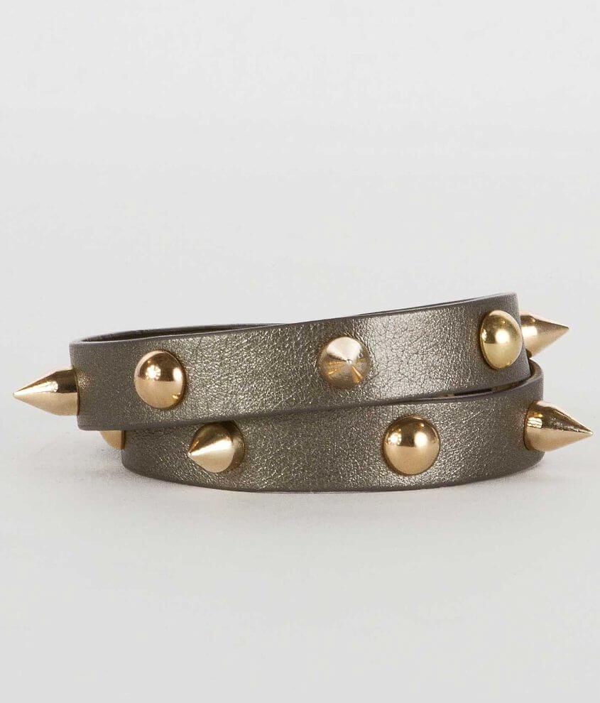 BKE Spike Wrap Bracelet front view