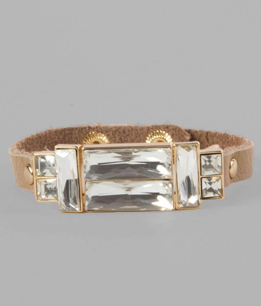 BKE Chunky Stone Bracelet front view