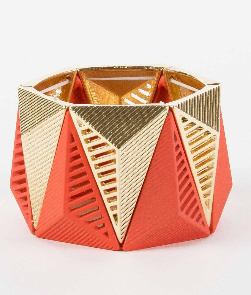 BKE Pyramid Bracelet front view