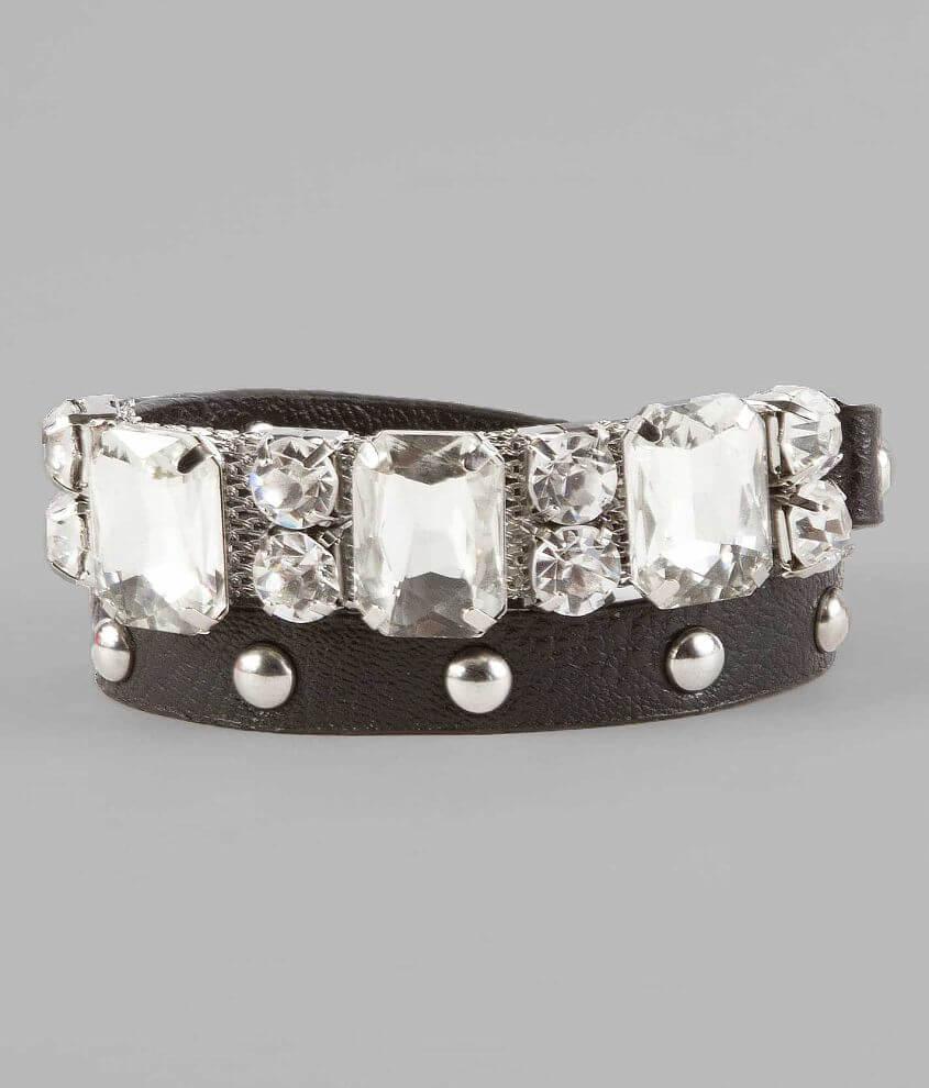 BKE Glitz Wrap Bracelet front view