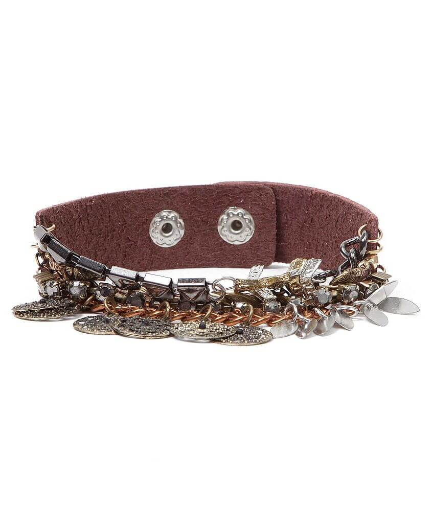 BKE Mutli Chain Bracelet front view