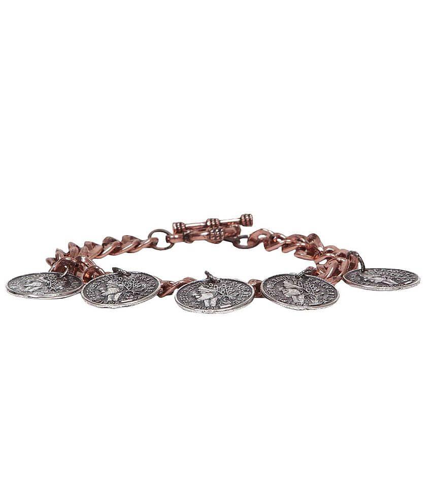 Festive Coin Bracelet front view