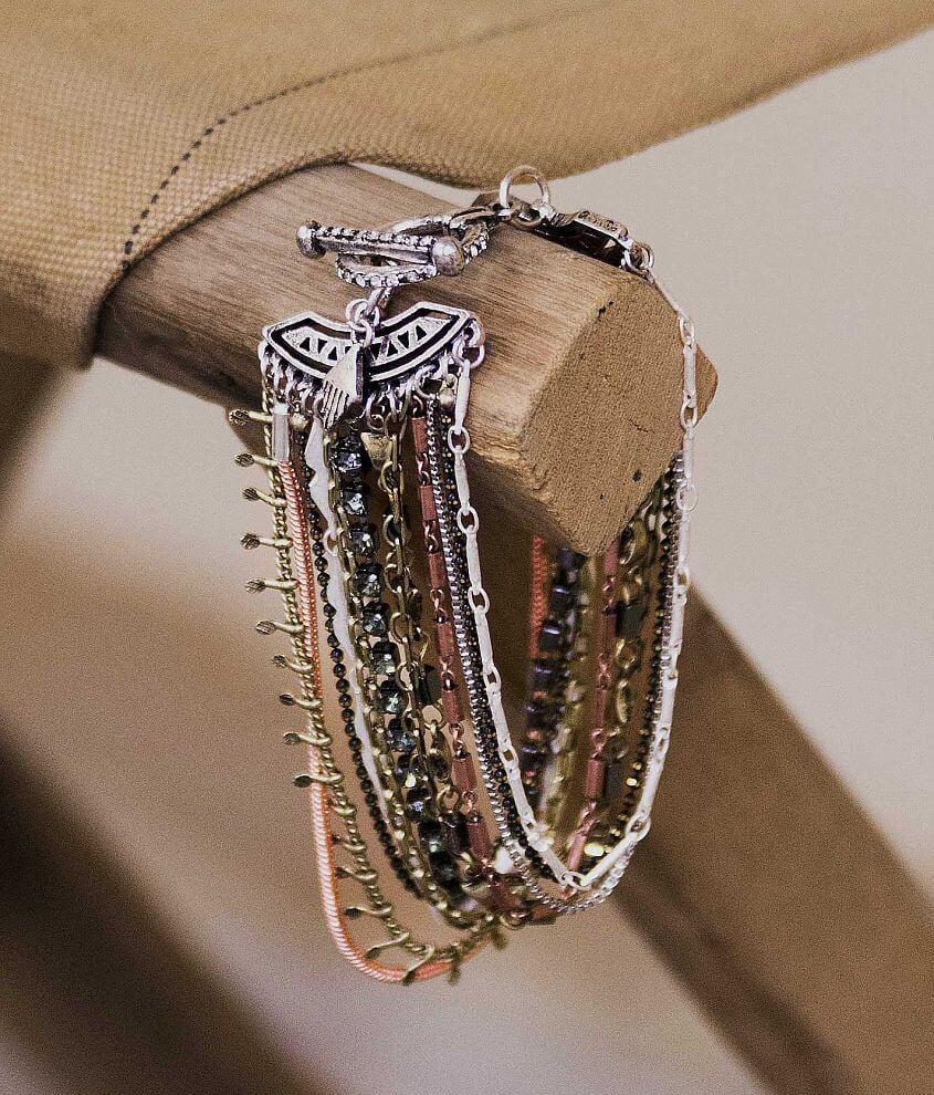 Gimmicks Row Bracelet front view